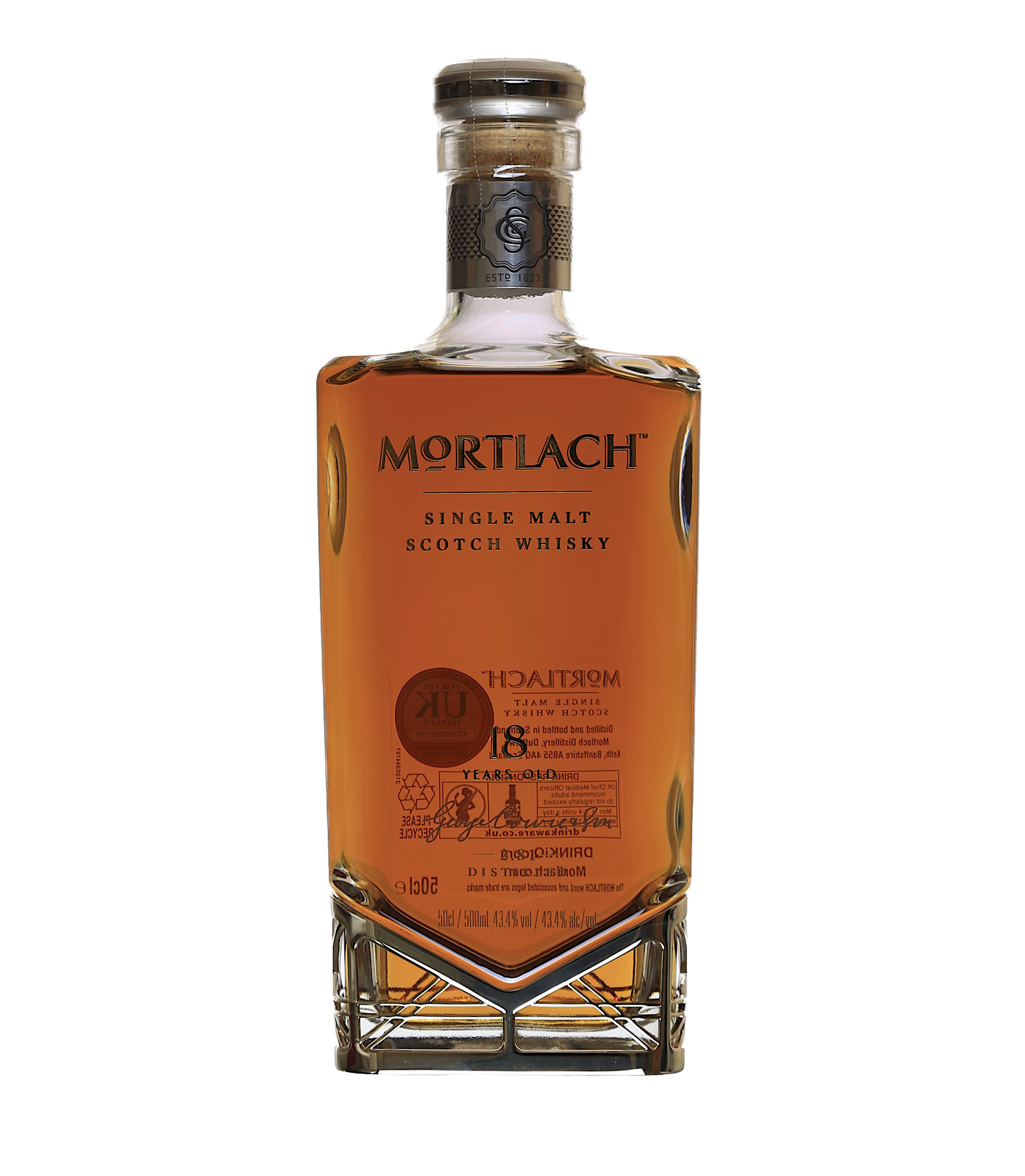 Mortlach, 18y, 50cl | Quay Wines: http://www.quaywines.co.uk/product/mortlach-18y-50cl/