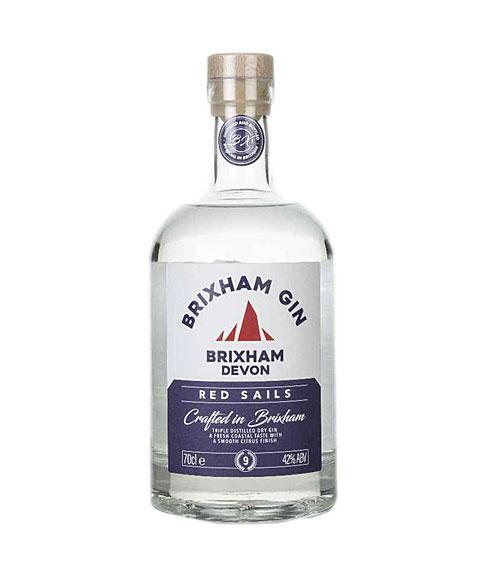 brixham red sails gin