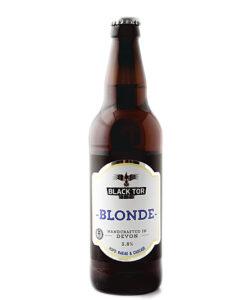 black tor blonde ale